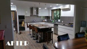 before and after kitchen renos griffin