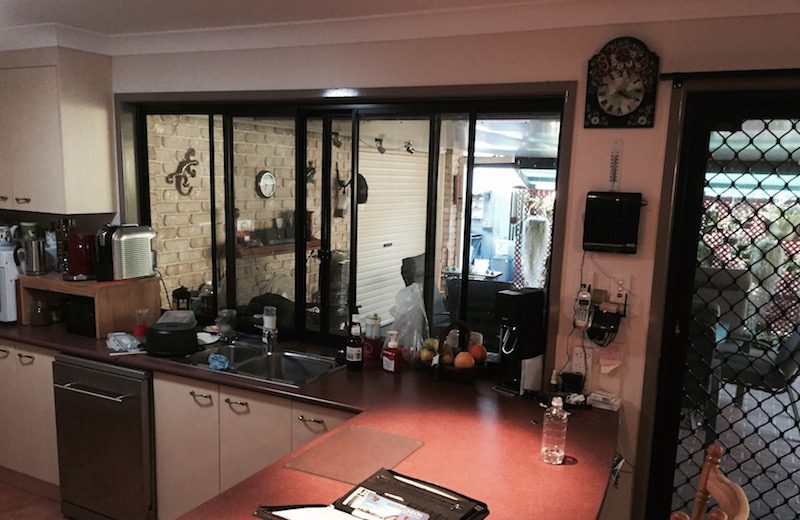 Before photo of the Williams kitchen remodel by Exclusiv Kitchen Brisbane