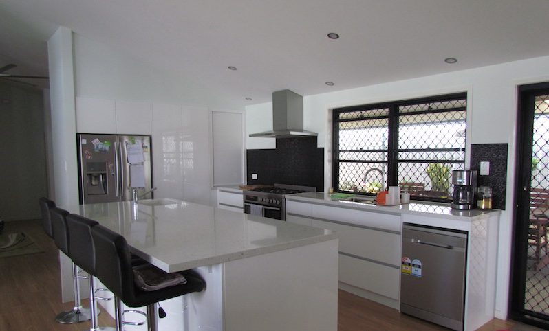 Before and After Photos of Ana's New Kitchen Renovation From Exclusiv Kitchens Brisbane