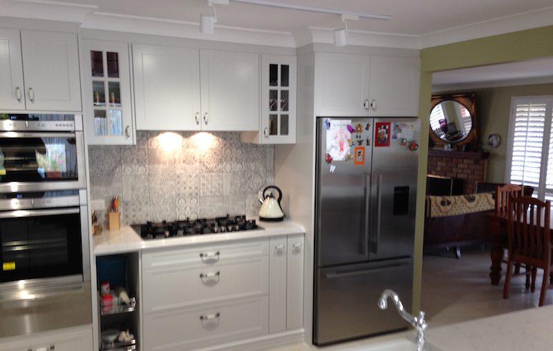 Brilliant photo of the Sava's new kitchen renovation in Wakerly Brisbane
