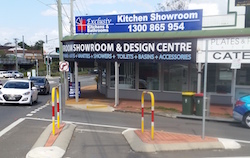 The Exclusiv Kitchens & Bathrooms Showroom Based in Gaythore, North Brisbane QLD