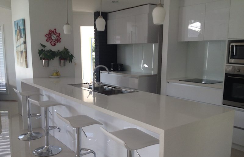 The Gray's Brilliant New Kitchen In Birkdale Brisbane QLD