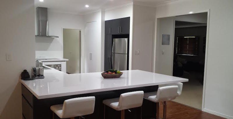 The beautiful new Strauss kitchen renovation by Exlcusiv Kitchens Bayside