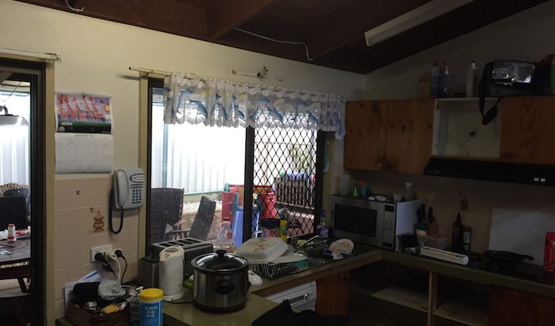 Before and After Pictures of Ana's New Kitchen in Cleveland Brisbane