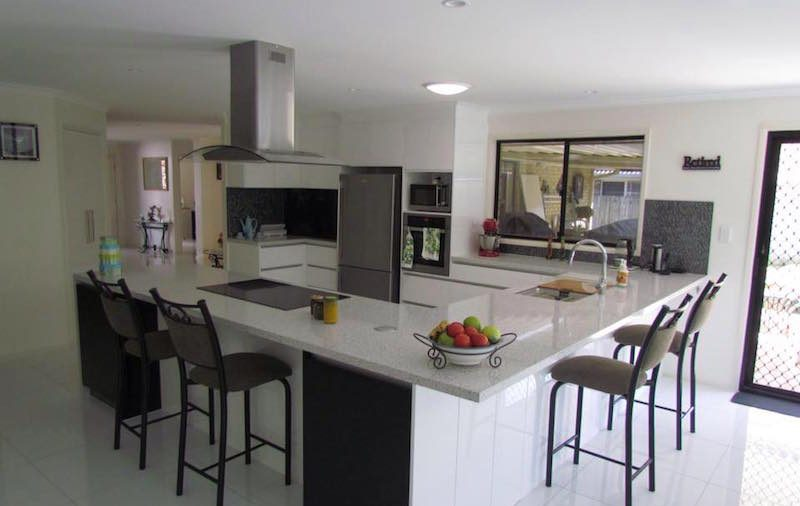 Brand new kitchen for the Smith's in Ormiston Brisbane.