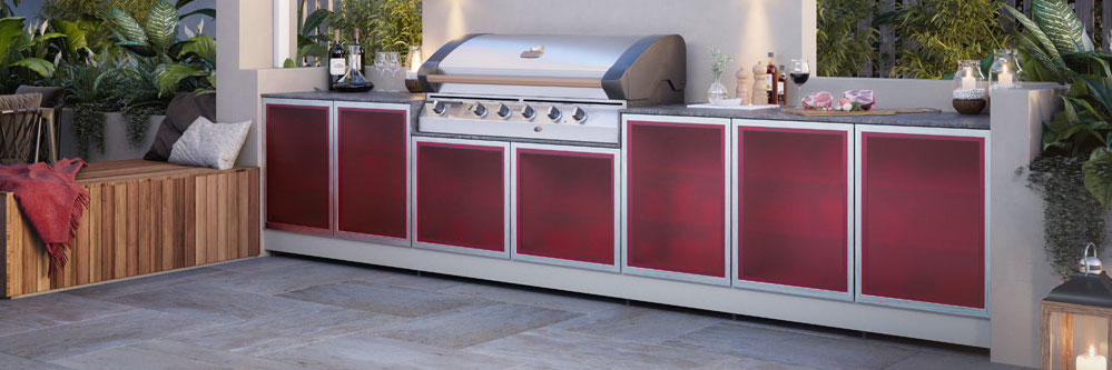 Great Range of Outdoor Kitchen Appliances