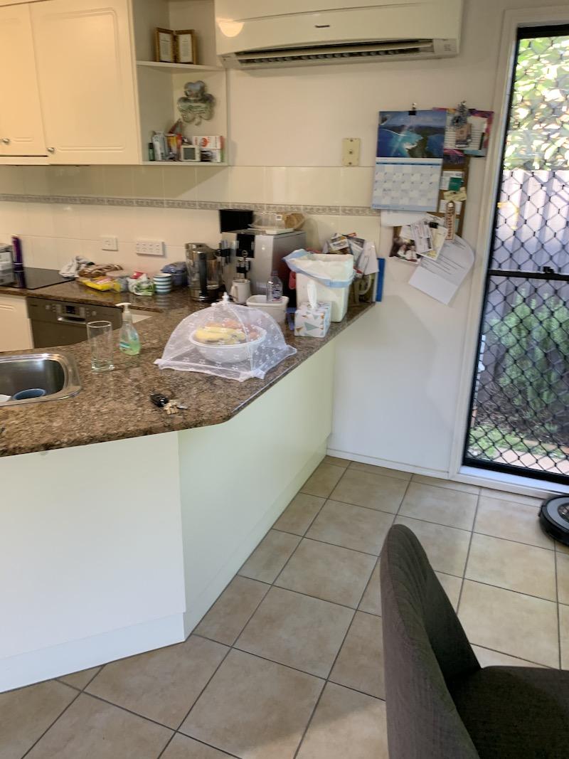 before photos aspley kitchen renovation